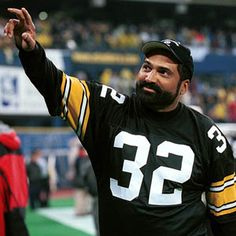Franco Harris! Hall of Famer from right here in Pittsburgh!