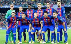 EQUIPOS DE FÚTBOL: BARCELONA contra Manchester City 19/10/2016