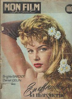 Mon film spécial Brigitte Bardot Daniel Gélin en effeuillant la marguerite 1957