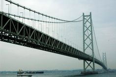 Akashi Kaikyo World's Longest Suspension Bridge