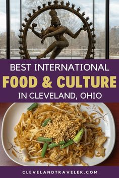 5 Ways to Feel Like You're Traveling the World Without Leaving Cleveland, including where to find the best international food and culture in Cleveland. Cleveland Food, Cleveland Restaurants, Banana Leaf Thai, Great Lakes Beer, Irish Festival, Polish Recipes, International Recipes, Foodie Travel