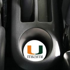 "AutoCoaster ~ University of Miami Hurricanes ~ Tile Drink Coaster for car cup... by Highland Graphics,Inc.. $2.95. Unconditional refund or replacement guarantee. 2 1/2"" diameter coaster fits in your car's cupholder. Bevelled bottom for removal and cleaning. Adds a personal touch to your car's interior. *Printed in the USA*. Made of a textured bisque tile, this beautiful coaster will last for years with a minimum of care - wipe clean without damaging picture."