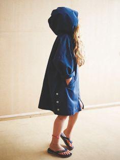 Hooded cotton coat by Kidscase