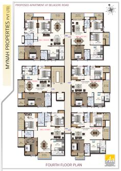 Floor Plans of Layout/Plots for Sale in Electronic City at Sri Sai Gardenia Town House Floor Plan, Condo Floor Plans, Bungalow Floor Plans, House Plans Mansion, Duplex House Plans, Residential Building Plan, Home Building Design, Home Design Plans, Unique Floor Plans