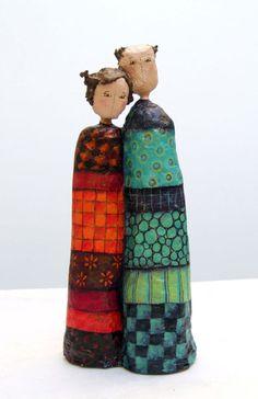 Sculptures en papier mâché - Delphine BLAIS