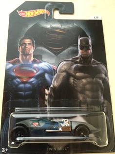 Twin mill Batman vs Superman 1/7 Hotwheels