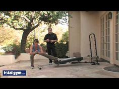 Total Gym Exercises - Hip and Glute Workout - Lunges