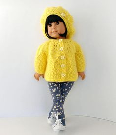 18 inch doll clothes fit like American Girl doll clothes