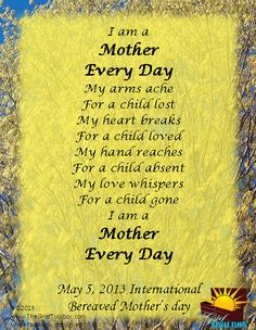 Mother's Day grief child loss