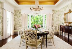 The Chinoiserie Dining Room (via Bloglovin.com )
