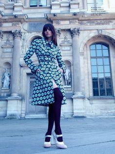 Daniela Freitas for Elle Croatia September 2015 by Rocío Ramos - Miu Miu Pre-Fall 2015