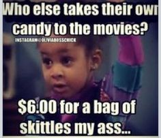 Candy from the movies