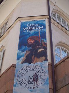 Otzi Museum in charming, bike-friendly Bolzano, Italy