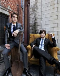 Brendon Urie and Spencer Smith