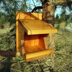 Robin / Mourning Dove / Swallow Nest Box - reclaimed Cedar by GeminiMonkeyWorkshop on Etsy