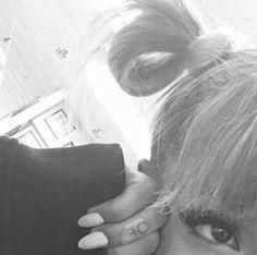 8 Best Ariana Grande Small Moon Tattoos Images Small Moon Tattoos