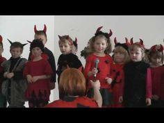 Kubíčkova besídka - čertí šaráda (Kubik's party in kindergarten - Devil charade) - YouTube Try Again, In Kindergarten, Party, Youtube, Christmas, Natal, Xmas, Parties, Weihnachten
