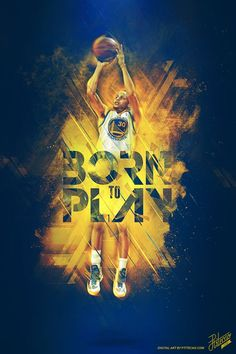 2014 NBA PLAYOFFS - BORN TO PLAY by Caroline Blanchet, via Behance