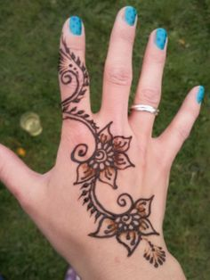 My henna tattoo ♥