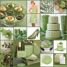 Beautiful Bridal: Sage Green Wedding Ideas