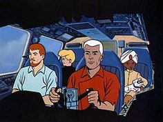 Johnny Quest    Oh yea.  Grew up loving that one.  Tim Mathison(Animal House, etc.) as the voice of Johnny.