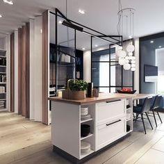Amazing one bedroom apartment with masculine touches / Increíble apartamento con toques masculinos - Casa Haus Decoración, Ideas e Interiorismo