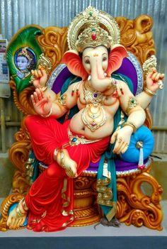 (Ahmednagar) km Ganesh Chaturthi Decoration, Happy Ganesh Chaturthi Images, Shri Ganesh Images, Ganesha Pictures, Hanuman Images, Ganesh Aarti, Ganesh Bhagwan, Ganpati Bappa Wallpapers, Ganesh Photo