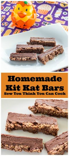 Homemade Kit Kat Bars | Sew You Think You Can Cook