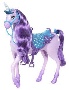 Black Friday 2014 Barbie Princess Unicorn Doll, Purple from Mattel Cyber Monday. Black Friday specials on the season most-wanted Christmas gifts. Mattel Barbie, Mattel Shop, Disney Barbie Dolls, Toys For Girls, Kids Toys, Barbie Horse, Princess Adventure, Unicorn Doll, Beautiful Unicorn
