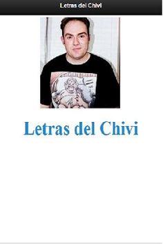Todas las letras del cantautor Chivi