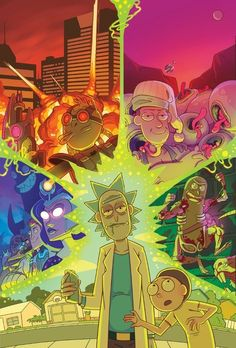 17 Trendy Wall Paper Iphone Trippy Rick And Morty Trippy Rick And Morty, Rick And Morty Drawing, Rick And Morty Image, Rick I Morty, Cartoon Wallpaper, Iphone Wallpaper, Rick And Morty Stickers, Rick And Morty Characters, Ricky And Morty
