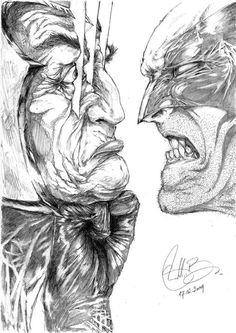 """The Wolverine vs Magneto. """"Just miissed . Comic Book Characters, Comic Book Heroes, Marvel Characters, Comic Books Art, Comic Art, Marvel Vs, Marvel Comics Art, Marvel Comic Universe, Hero Arts"""