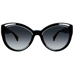 dacbb35652 Christian Roth Sunglasses - Fly Girl - in Black with crystal inserts and  yellow