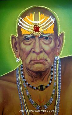 Saints Of India, Swami Samarth, Lord Ganesha Paintings, Good Morning Images Hd, Cute Girl Drawing, Om Sai Ram, God Pictures, Sai Baba, Indian Gods