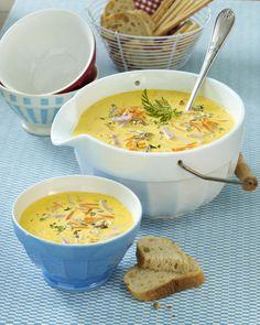 Suppenrezepte - heiß geliebt, gern gelöffelt - kokos-moehren-suppe