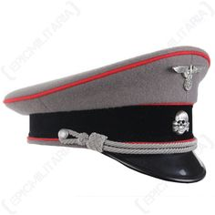 5c90c80ecd8a4 Search results for   ge n waffen ss officer visor cap  - Epic Militaria