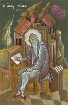 Mystagogy Resource Center is an International Orthodox Christian Ministry headed by John Sanidopoulos. Byzantine Icons, Byzantine Art, Religious Icons, Religious Art, Writing Icon, Faith Of Our Fathers, Greek Icons, Russian Icons, Best Icons