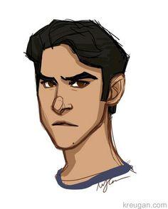 Teen Wolf Fan Art, Teen Art, Character Inspiration, Character Design, Sterek Fanart, A Level Art Sketchbook, Writing Pictures, Teen Wolf Stiles, Scott Mccall