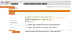 Marketers deserve to have control of their website!  Edit your website super easily with HubSpot.