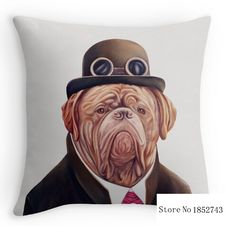 Cool Dogue De Bordeaux(two sides) Pillow Cases for 12 ''14''16''18'' 20''24'' inch free shipping #Affiliate