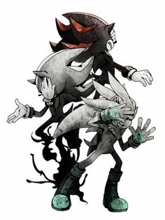 Mephiles, Shadow & Silver :D this is coool, but why are they covering their faces? >: