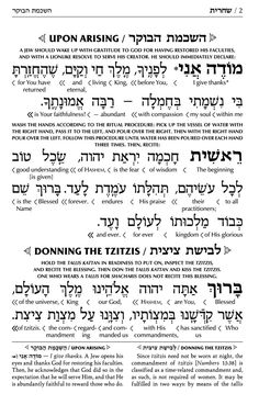 Jewish prayers with English translation | Hebrew Interlinear Translation…
