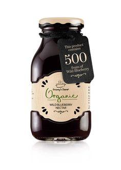 vintage yet modern jar of jam