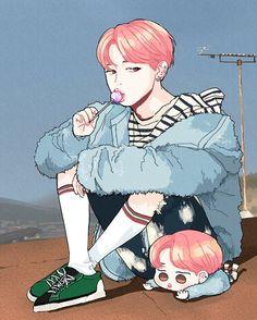 BTS FanArts~♥ [JIMIN] KYEOPTAA~!! ♥♥♥ KAWAII~♥!