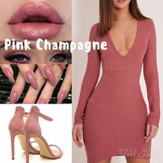 Pink champagne LipSense 4-18 hour wear, smudge proof, kiss proof, bleed proof lipstick. Non gmo, no wax, no lead, not tested on animals. www.senegence.com/lipslumiere