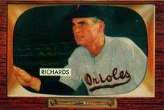 1955 Bowman #225 Paul Richards Front