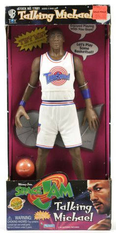 1996 Space Jam / Talking Michael Jordan doll