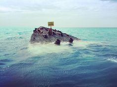 We survived the #bermudatriangle. This completes my visit to the three vertices of the triangle Puerto Rico - Miami - Bermuda #shipwreck #bermudaful #bermuda