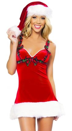 61424ff42f6b2 Sexy Flirty Santa Women s Christmas Costume US 38.96 Holiday Lingerie