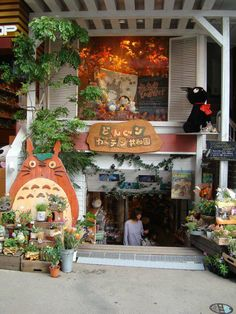 Gardening with Totoro Theme  (I want!)  -